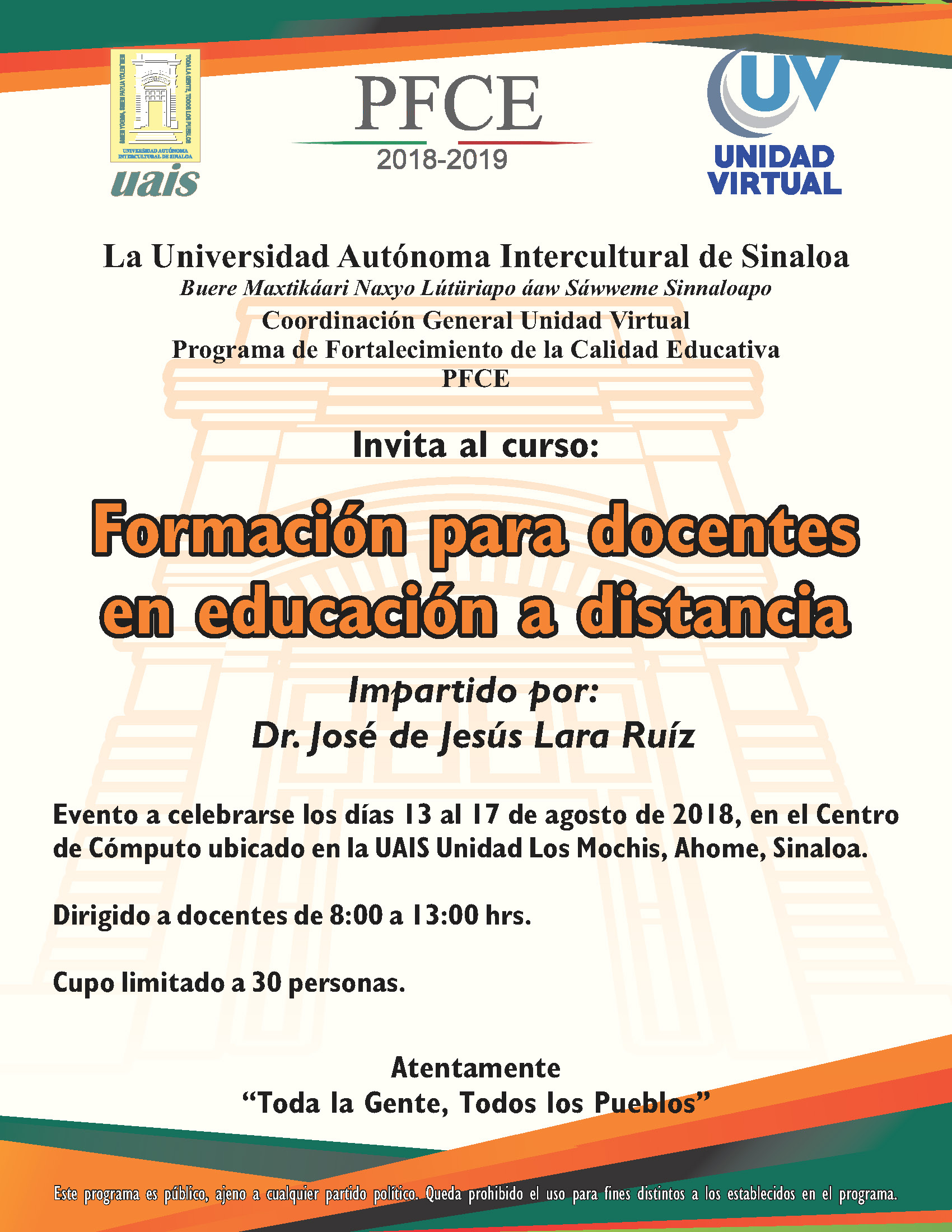 CONVOCATORIAS VIRTUAL Página 1